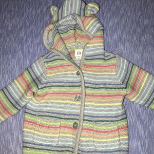 Other - Unisex baby stripped jacket